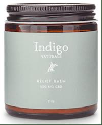 IndigoNaturals 500 mg CBD balm